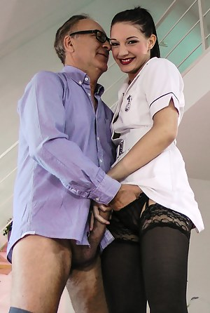 Felicia is a real vixen going straight for the cock sucking