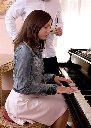 Pounding On The Piano